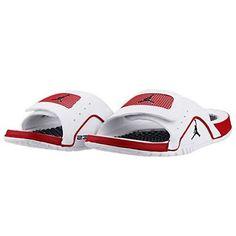 6c83fd94ca3dfb Nike Jordan Hydro IV 4 Retro Mens 532225-102 White Gym Red Slide Sandals  Size