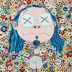 "191. TAKASHI MURAKAMI, ""Self portrait of the distressed artist""."