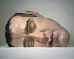'mask II' by ron mueck