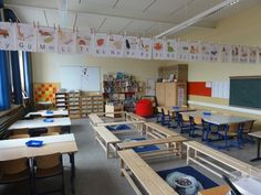 Pinguin-Klasse: Einrichtung Klassenraum
