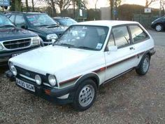 My second favourite the Ford Fiesta it was for the fact that the steering was offset after an obvious large shunt it was great. Mode Of Transport, Mk1, Transportation, Ford