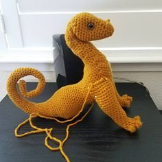 Sarah Palmero added a photo of their purchase Crochet Patterns Amigurumi, Crochet Bat, Crochet Dragon, Crochet Dolls, Crochet Stitches, Knitting Patterns, Pattern Library, Sell Items, Single Crochet