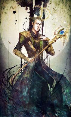 beautiful Loki picture