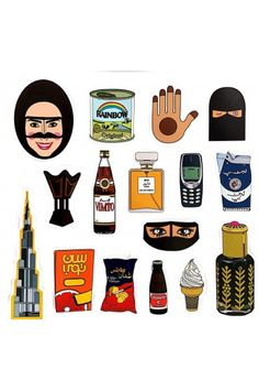 pop culture by Fatma Almulla (Fmm Dubai) (recreate healthier versions of laban up / vimto in a pop culture style) Eid Stickers, Alphabet Stickers, Cool Stickers, Tumblr Stickers, Eid Boxes, Eid Photos, Ramadan Cards, Simpsons Drawings, Ramadan Activities