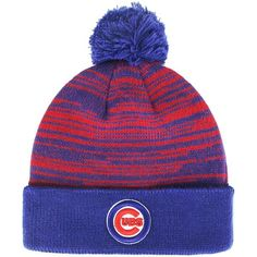 best sneakers 55f84 4a38a Chicago Cubs Mass Brush Cuffed Knit Hat  ChicagoCubs  Cubs  MLB  flythew  Cubs