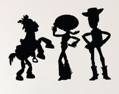Cartoon Silhouettes