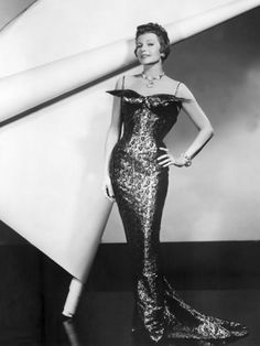 Rita Hayworth Fashion