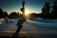 Phosphorescent Skatepark in Liverpool.