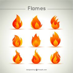 Flames Vectors, Photos and PSD files Flame Tattoos, Mini Tattoos, Game Design, Icon Design, Fire Vector, Flame Art, Fire Tattoo, Nature Vector, Scouting