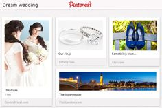 Utilizing Pinterest not only makes the bride's planning of her big day less taxing, but she's also able to see and develop an entirely new set of ideas and visions she may not have dreamed of otherwise – even if this is the day she's been dreaming of since she was a little girl.