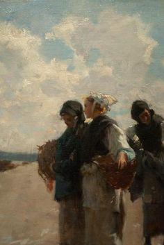 John Singer Sargent  ladies on the pier