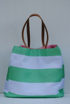 Adorable Park Ave shopping tote - Only $9.99 plus FREE shipping! Hurry before it's gone! Pinkelephantsonline.com