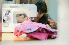 Mountain View Public Library offers Sew Sew Saturday, a free program that allows patrons use of the library's four sewing machines.