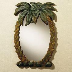 Palm Tree Wall Mirror