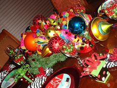 Musings from a breast cancer optimist.....: Show Me Christmas Week Two - Christmas at The Brumback's....