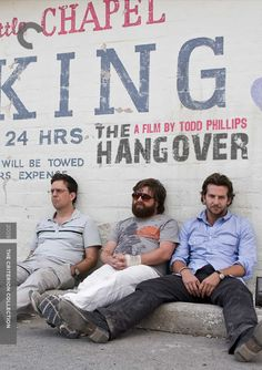 """Fake Criterion cover for """"The Hangover"""""""