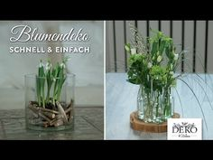 How to: ausgefallene Blumendeko für den Frühling schnell & einfach   Deko Kitchen - YouTube