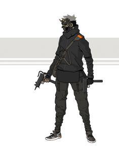 ArtStation - Cyberpunk characters, Ian Barreto