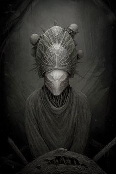 Hostess of the Copper Hill, by Anton Semenov