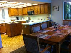 Dining room & kitchen- built for entertaining!