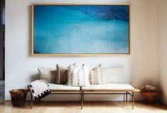KS1 Design Entrée, Home Design, Design Room, Pattern Design, Design Ideas, Halls Pequenos, Home Interior, Interior And Exterior, Coastal Interior