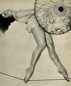 William Mortensen- rope dancer, 1934