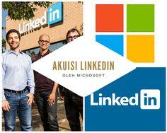 Microsoft mengumumkan bahwa mereka akan membeli LinkedIn, pada Senin (13/6). Akusisi ini menelan biaya sekitar USD26.2 miliar atau setaran dengan Rp349 triliun