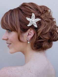 Find This Pin And More On Night Out Starfish Wedding Hair