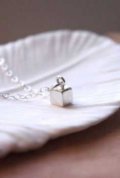 Silver Square Necklace | Simple Sterling | Beauty in Simplicity | Jewellery and Watches