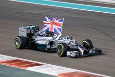 Lewis Hamilton celebrates championship win ..,,F1 Grand Prix of Abu Dhabi 2014