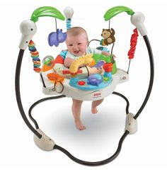 Fisher Price Zoo Jumperoo Baby Toy Jumper Walker Bouncer  #Jumperoo