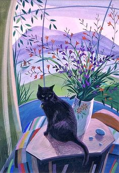 Nicholas Hely Hutchinson  Black Cat  2000