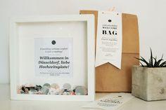 Bild: DIY Geschenk Idee für Übernachtungsgäste und Hotelgäste einer Hochzeit - Finde viele Ideen für individuelle Welcome Bags als Gastgeschenk