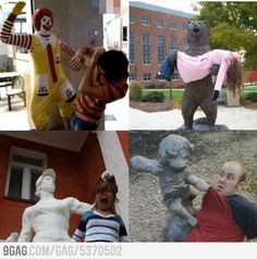 Statues gone wild