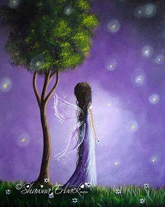 pretty firefly fairy