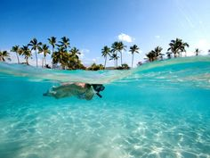 Don a mask and fins and slip into the waters of these amazing island beaches, voted by Condé Nast Traveler readers as the best in the world for snorkeling and swimming.