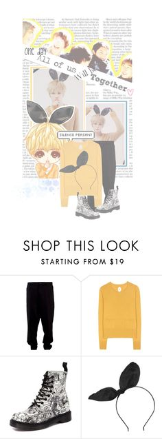"""""""+One day they will be back together+"""" by the-awesome-ninja-mage ❤ liked on Polyvore featuring ISABEL BENENATO, Jardin des Orangers, Dr. Martens, Topshop, TVXQ, dbsk, jyj and jaejoong"""