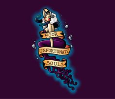Poor Unfortunate Souls tattoo