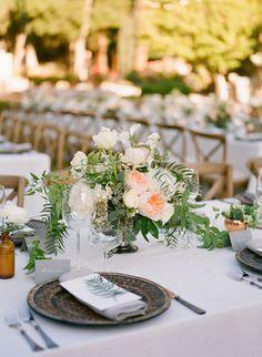 Fern Wedding Flower Decor