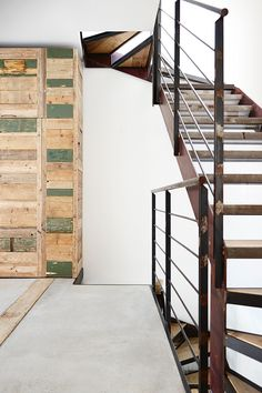 Inside Industrial designer Costanza Algranti's Milan home gallery 2 of 7 - Homelife Italian Home, Rustic Style, Modern Interior, Industrial Design, Milan, Stairs, Building, Wood, House