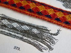 Tässä teille Ravattulan Ristimäen tekstiililöytö: lautanauha haudasta 8, vuoden 2015 kaivauksilta. Ristimäellä haudat numeroidaan vuositt...