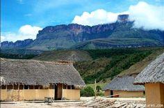 Campamento cerca del 'Auyantepui',Gran Sabana Venezuela.