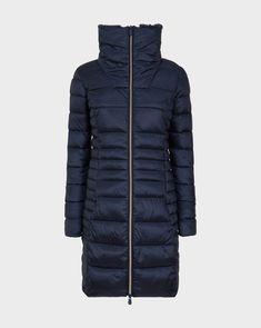 Women s IRIS Winter Coat in Blue Black. Зимние Куртки ... fa1260636aae7
