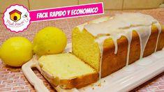 BUDIN de limon ESPONJOSO sin manteca Pan Dulce, Quiches, Biscotti, Filet Mignon Chorizo, Salsa, Food Crush, Lemon Desserts, Flan, Deli