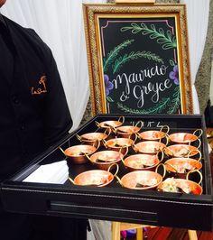 Boho Wedding|Greyce e Mauricio Finger Food para os convidados