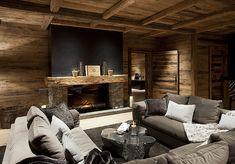 Chalet Chalet N, Ski Lech, Austria, Ultimate Luxury Chalets Chalet Style, Ski Chalet, Garage Apartment Plans, Log Cabin Homes, Lounge, Cafe Interior, Dream Decor, Ovens, Skiing