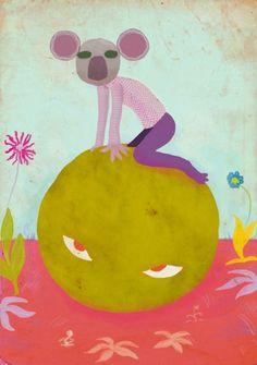The koala who fell to Earth - 2014 by Alessandro Bonaccorsi www.zuppassion.com