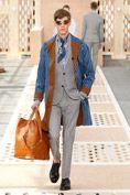 Look Nr.12 aus der Louis Vuitton Frühjahr/Sommer 2014 Fashion Show