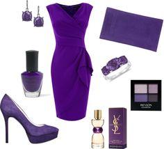 """purple fever"" by yanezvieyra on Polyvore"
