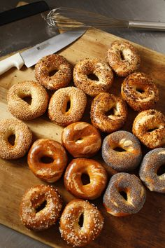 Recipe: Baron bagels || Photo: Craig Lee for The New York Times